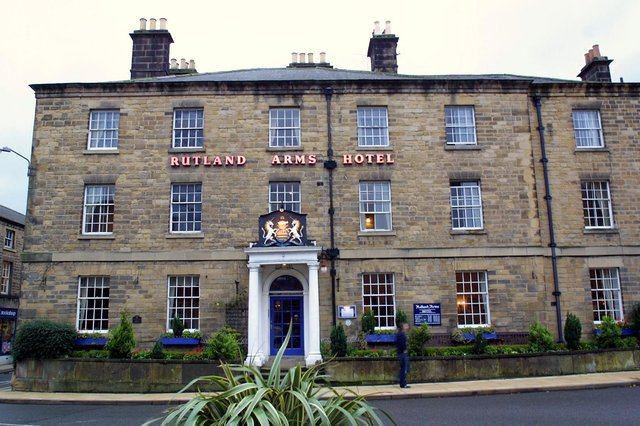 """Philip Riden describes Bakewell's Rutland Arms Hotel as """"an historic oasis of calm and charm in a busy town.."""
