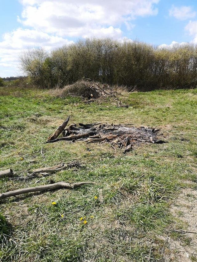 Concerns have been raised over vandalism and fires being set at Norbriggs Flash Nature Reserve in Staveley