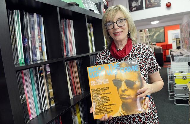 Maria Harris, owner of Tallbirds Records.