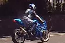 Police are appealing to find a motorbike rider who allegedly drove dangerously through Bakewell at about 2pm on Saturday, June 12 and failed to stop for officers.