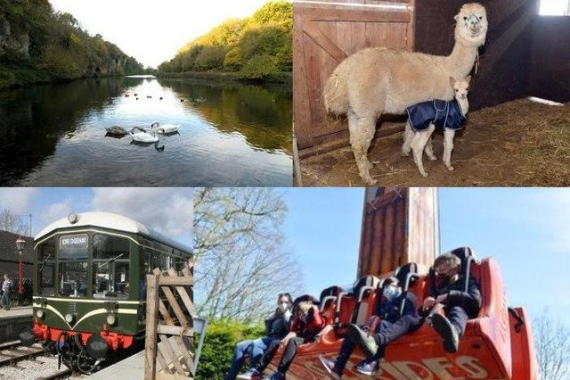 There are plenty of places to enjoy within an hour's drive of Chesterfield.