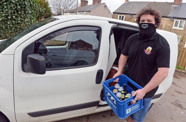 Brimming with Beer now makes 50 to 60 deliveries every day across the area.