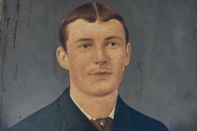 Portrait of Enos Calladine Cooke.