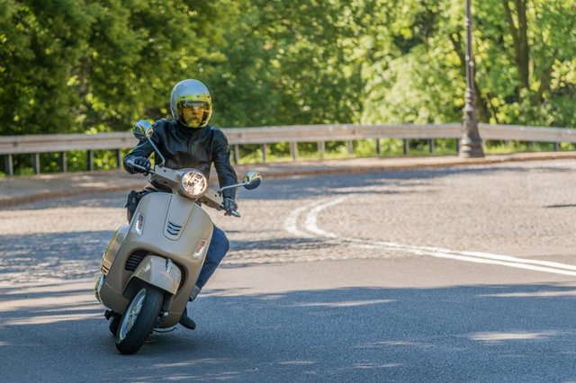 Scooter riders are invited to meet up at Olympia House, Brimington Road, Chesterfield. Photo by Shutterstock/Dziorek Rafal
