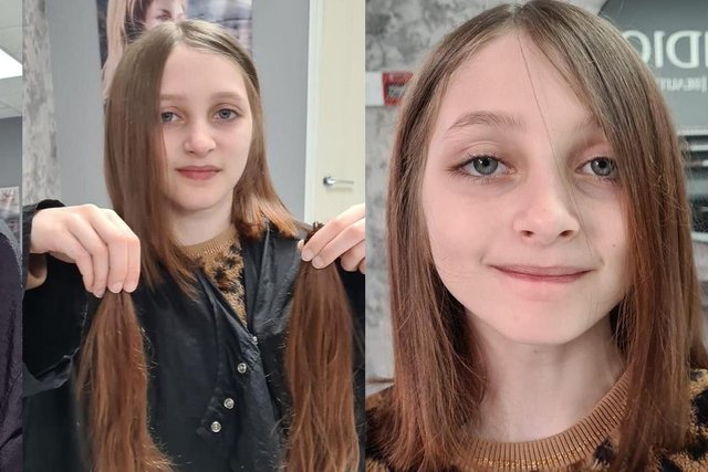 Coco Winters was motivated to donate her stunning locks after seeing a video of children who have lost their hair.