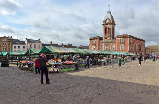 The average house price in market towns, such as Chesterfield, rose by 7.5 per cent from January 2020 to April 2021.