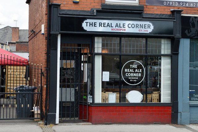 The Real Ale Corner is one of the oldest micro-pubs in the country.