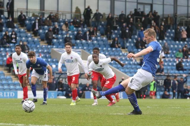 Danny Rowe scored the winner from the penalty spot.