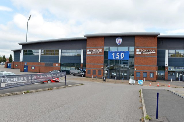 The vaccines given to Chesterfield FC players and staff 'fell within the guidelines', a local NHS review has concluded.