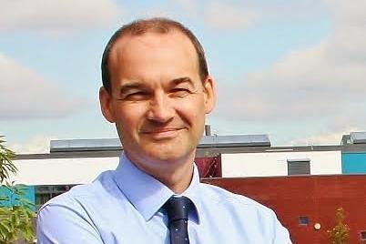 Mark Cottingham, principal of Shirebrook Academy.
