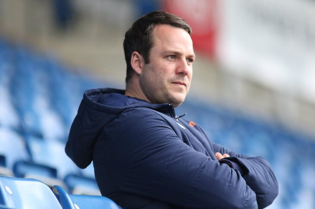 Chesterfield are one of the favourites to win the National league title this season. Pictured: manager James Rowe.