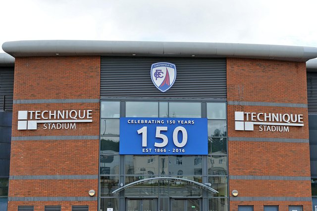 The Spireites have confirmed they have been successful in an application for a loan from Sport England.