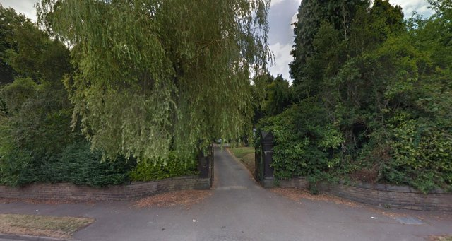 The entrance to Staveley Cemetery, where the alleged theft took place (Picture: Google)