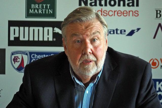 Spireites chairman Mike Goodwin.