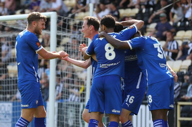 Town fans believe Chesterfield will be challenging for promotion again next season. Picture: Tina Jenner.