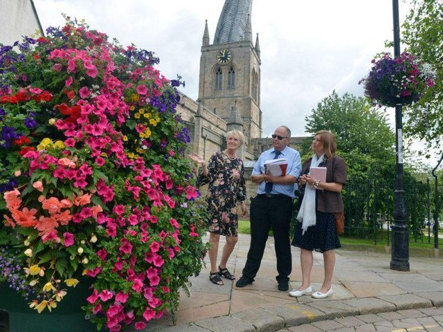The Chesterfield in Bloom competitions are now open