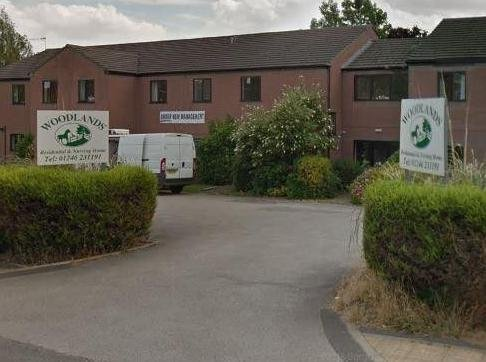 Woodlands care home in Chesterfield. Picture from Google.