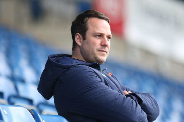 James Rowe has won 13 of his 20 league games in charge of Chesterfied.