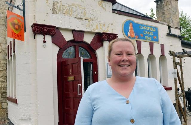 Cakefield Cakes Tea Room owner Gemma Lennane.