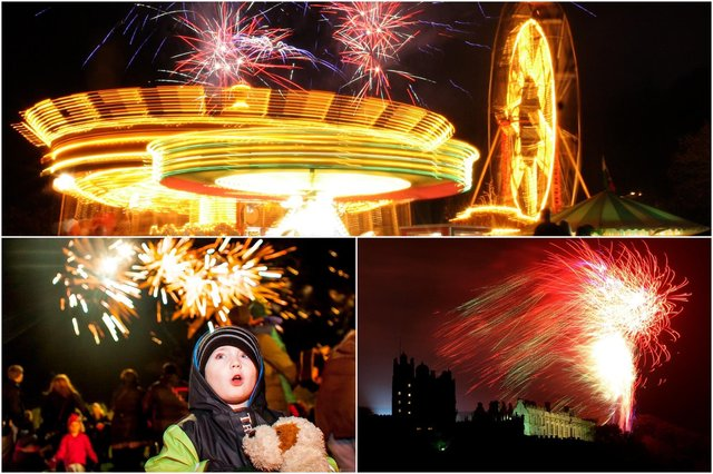 Fireworks celebrations light up Chesterfield, Bolsover and Glapwell.