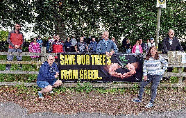 Campaigners in Glapwell say the battle to save their green space has been made more difficult by the pandemic.