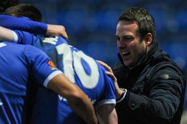 Chesterfield are two points off the play-offs with five games remaining.