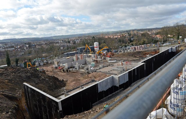 Work has started on a new care home on Ashgate Road, Chesterfield. Picture by Brian Eyre.