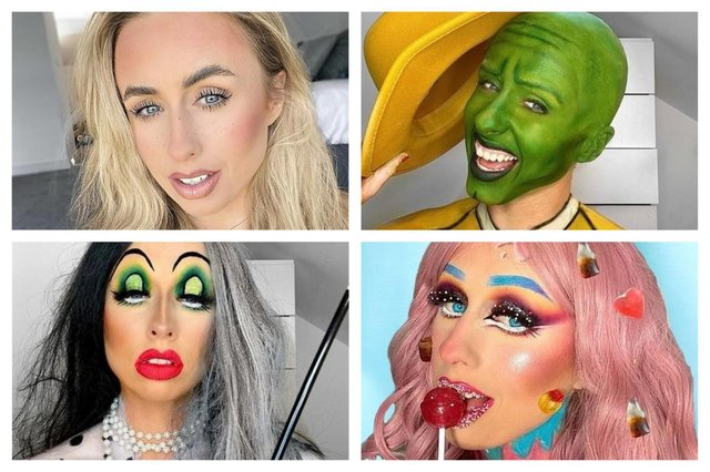 Chesterfield make-up artist's amazing transformation into film characters