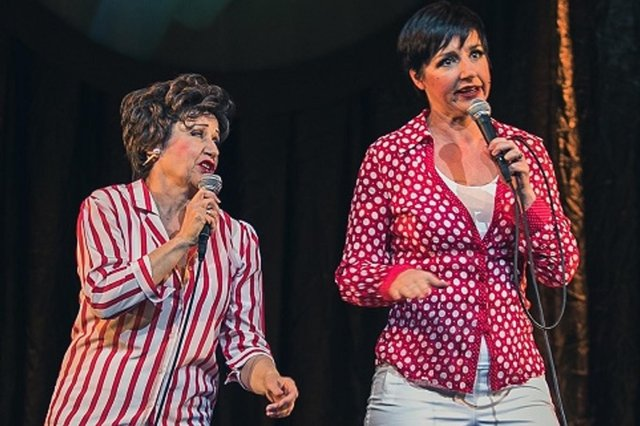 Judy & Liza: The Musical will be the first live show at Chesterfield's Pomegranate in its reopening after lockdown. Photo by Andrew AB.