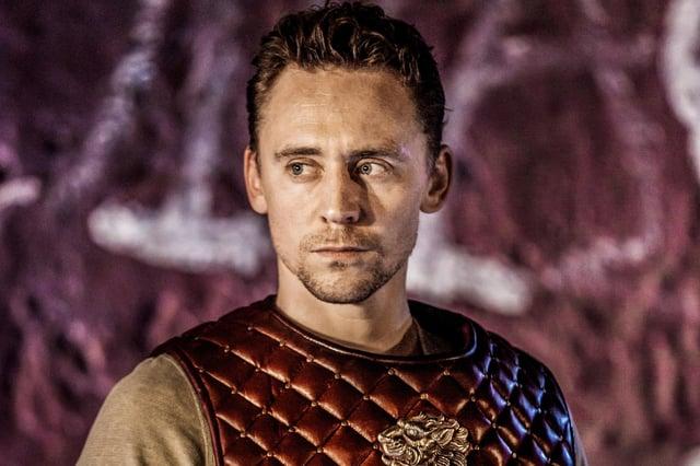 Tom HIddleston in Coriolanus. Photo by Johan Persson.