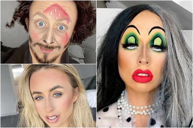 Makeup artist Rachel Brobbin enjoys transforming herself into heroes and villains from the film world.