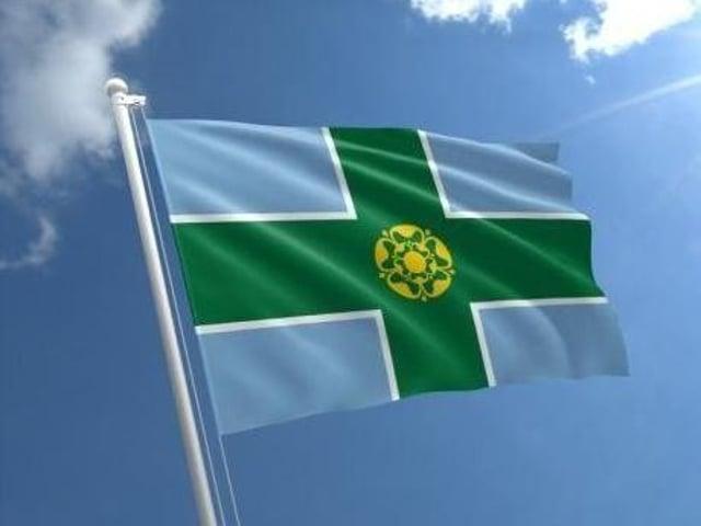 Flying the flag for Derbyshire