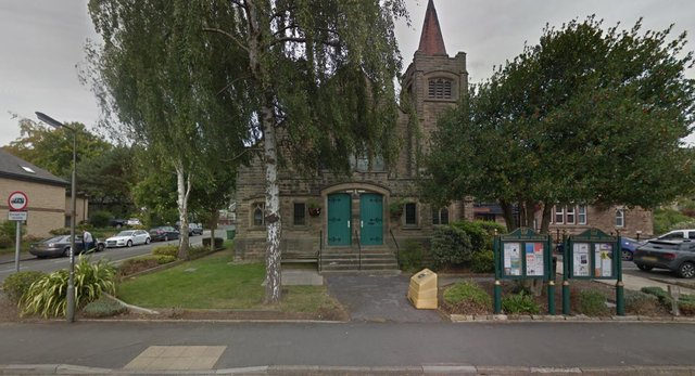 The new community Covid-19 testing centre in based in Imperial Rooms, Matlock (picture: google)