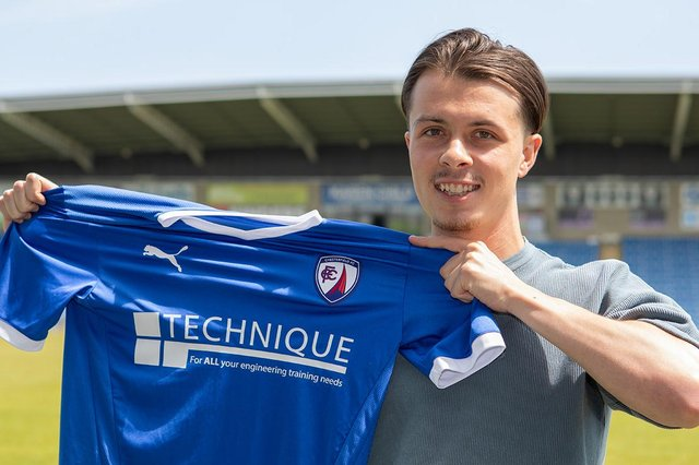 Jack Clarke has signed for the Spireites: Picture: Tina Jenner.