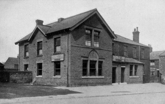 The Furnace Inn was situated on Derby Road and is now used as a Chinese restaurant, following closure in 2003. Publican in 1871 and 1881 was William Clough.