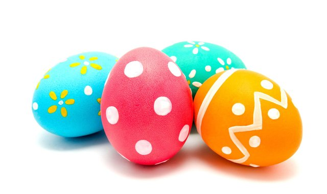 Post pictures of your decorated eggs and win prizes. Photo by Shutterstock