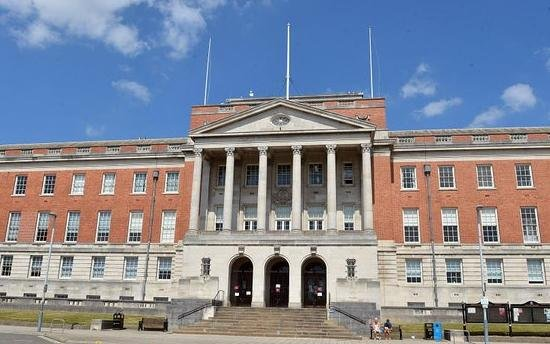 Chesterfield Coroner's Court is located at the town hall.