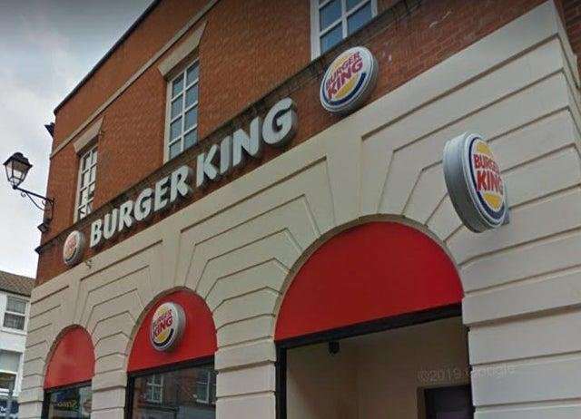 Burger King closed in Chesterfield town centre seven years ago.