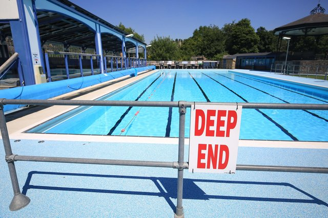 Hathersage Swimming Pool will reopen on Monday, March 29, and many of the initial sessions are already sold out