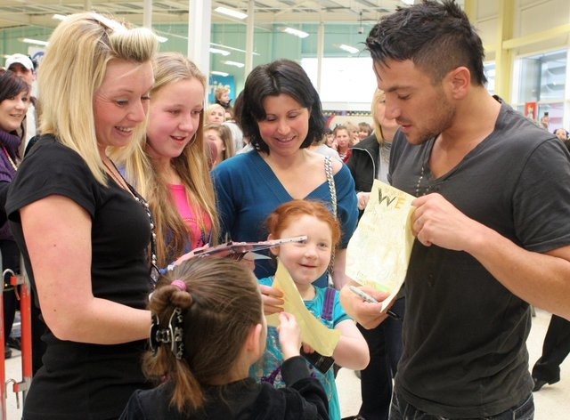Spot anyone you know with Peter Andre?