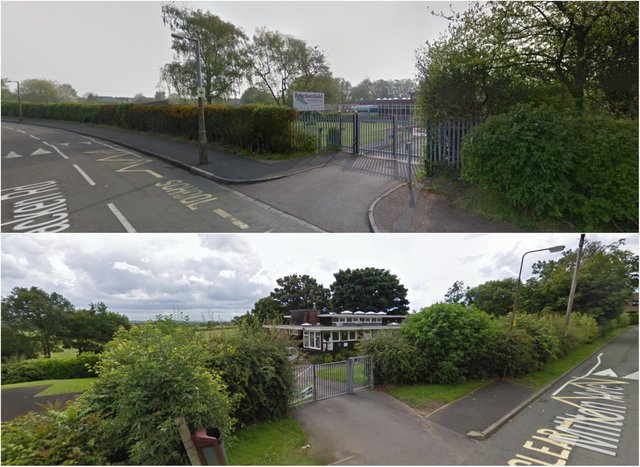 Changes are to be made to the admission arrangements for Brackenfield Special School (top) and Mickley Infant and Nursery School