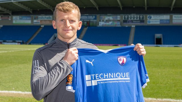 Danny Rowe has joined Chesterfield from Bradford City. Picture: Tina Jenner.
