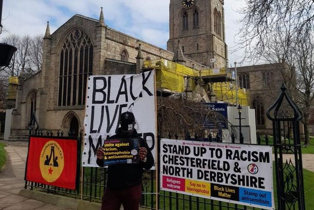 Alfred Graham from Chesterfield and North Derbyshire Stand Up To Racism.