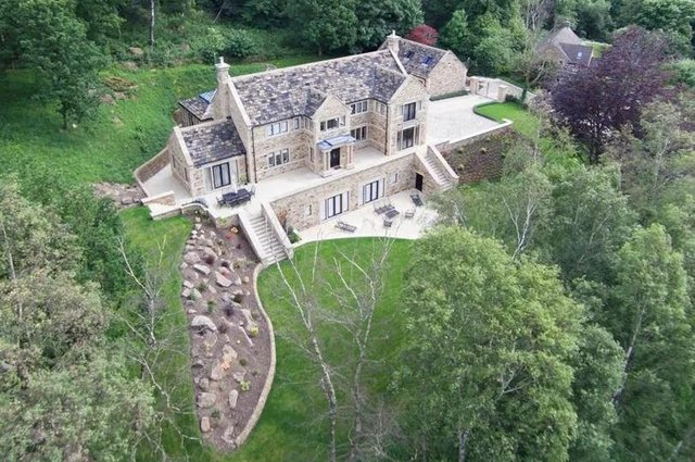 """Burbage Hall is described as an """"exquisite country residence""""."""