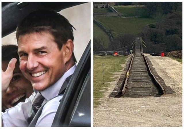 A number of people have expressed their excitement at the prospect of Mission Impossible star Tom Cruise possibly visiting Derbyshire.