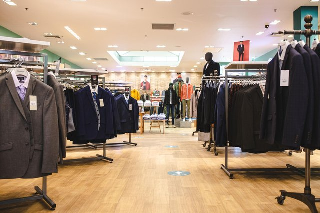SD Home of Menswear by Suit Direct has opened a new store at Meadowhall