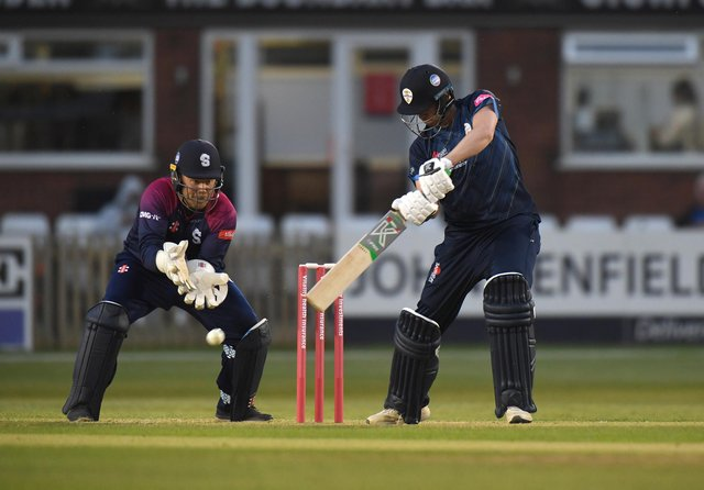 Matt Critchley helped guide Derbyshire Falcons to victory. (Photo by Tony Marshall/Getty Images)