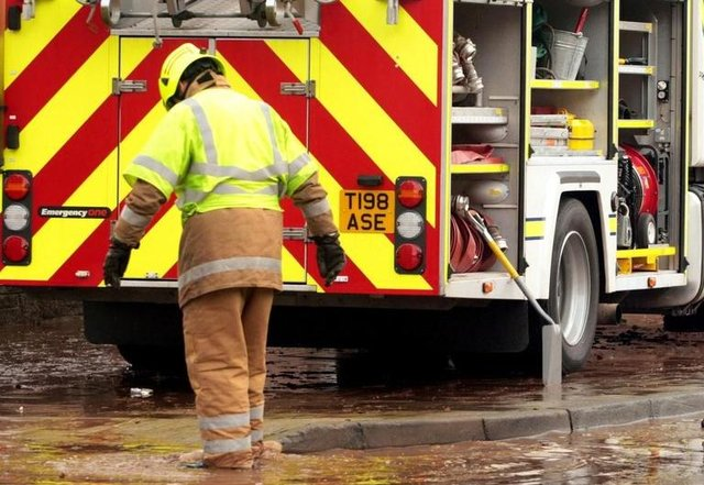 Firefighters have been carrying out patrols in Chesterfield's Queen's Park. Picture for illustrative purposes only.