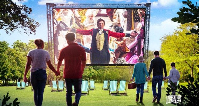 The Greatest Showman will be screened outdoors in Chesterfield this summer.