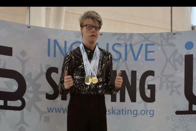 Callum Mills has been a hugely successful figure skater since taking up the sport.